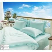 Спално бельо памучен сатен - Аква