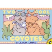 Two Cool Coyotes by Jillian Lund