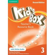 Kid's Box Level 3 Teacher's Resource Book with Online Audio: 3 by Kathryn Escribano