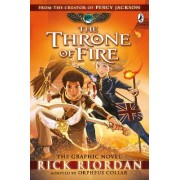 The Throne of Fire: The Graphic Novel: The Kane Chronicles Bk. 2 by Rick Riordan