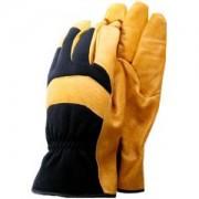 De-luxe soft leather werkhandschoenen - Maat M