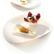Arcoroc Zenix Tendency fehér ovális tányér - G4373