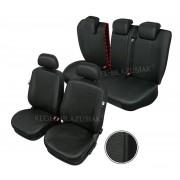 Huse scaune auto imitatie piele Audi A7 set huse Fata + Spate