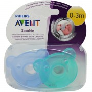 Avent Chupetes Soothie 0-3 Meses