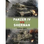 Panzer IV vs Sherman by Steven J. Zaloga