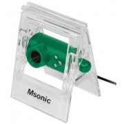 Camera Web Msonic MR1803E, VGA, Microfon (Verde)