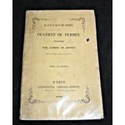 Il Faut Qu'une Porte Soit Ouverte Ou Fermée, Proverbe, Représenté Au Thèâtre Français, Le 7 Avril 1848