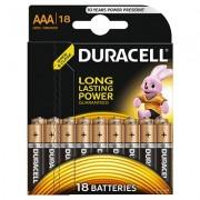 Baterie Duracell Basic AAA LR03 18buc