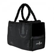 Přepravní taška černá KING OF DOGS 41x30x21cm