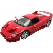 Modellino Auto FERRARI F50 1995 MATTEL HOT WHEELS IXO Scala 1/43 ITEM FER 012