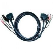 DVI D kábel KVM-hez 3 m, 2L-7D03U (1013051)