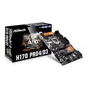 ASRock H170 Pro4/D3 Processore Intel H170 S 1151 DDR3L, DDR3, USB 3,0 Scheda madre ATX