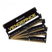 Mémoire PC Corsair Vengeance SO-DIMM DDR4 64 Go (4 x 16 Go) 2400 MHz CL16 - Kit Quad Channel RAMPC4-19200 - CMSX64GX4M4A2400C16 (garantie 10 ans par Corsair)