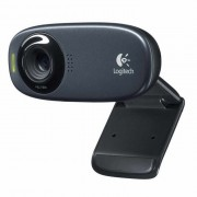 Logitech C310 USB 2.0 HD 720p 5.0MP Webcam w/ Mic - Black