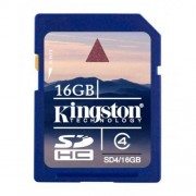 KINGSTON Karta Pamięci SD 16 GB CL4 (SD4/16GB)