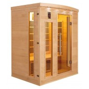 items-france APOLLON 4 PL - Sauna infrarouge apollon 4 places 175x120x190cm