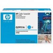 Тонер касета за Hewlett Packard Color LaserJet CLJ 4700 Cyan (Q5951A)