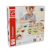 Hape - Home Education - Combino Wooden Card Game