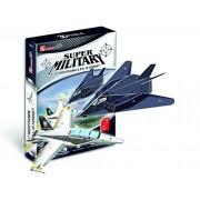 "CubicFun 3D Puzzle Kid-Serie ""F-117 Nighthawk & F/A-18 Hornet"""
