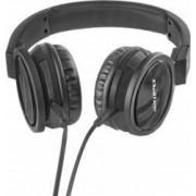 Casti Audio cu Microfon Qoltec Negru 50810