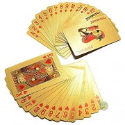 Day Golden Deck of Cards as a Gift Burj Khalifa,Dubai Golden Playing Cards (2 Golden Deck Cards)