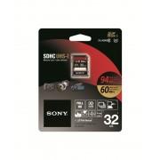 SD Card, 32GB, SONY SDHC, Class10 (SF32UX2)