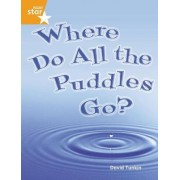Rigby Star Guided Quest Orange: Where Do All the Puddles Go? Pupil Book Single