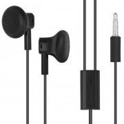 Handsfree Nokia WH-108 stereo cu microfon negru pentru dispozitive cu mufa jack de 3,5 mm