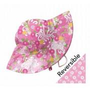 Pălărie reversibilă iPlay SPF 50+ - Pink Mum Garden, Newborn