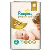 Scutece Premium Care 5 Junior Small Pack, 18 buc, Pampers