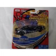 Marvel Spider Sense Spider-man Motorized Power Racer- Pull-back Powered Die-cast Vehicle black Spiderman Dodge Viper GTZ