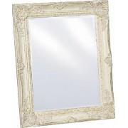 Spiegel mit Facettenschliff im Landhausstil 37x47cm