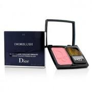 DiorBlush Vibrant Colour Powder Blush - # 876 Happy Cherry 7g/0.24oz DiorBlush Glowing Color Прахообразен Руж - # 876 Happy Cherry