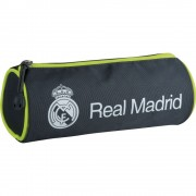Trousse Scolaire Rm- 63 Real Madrid 2 Lime - Licence Officielle Football