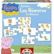 Juegos educativos Educa - Peppa Pig aprendo los números (15651)