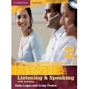 Sally Logan Cambridge English Skills Real Listening and Speaking 2 with Answers and Audio CD: Level 2