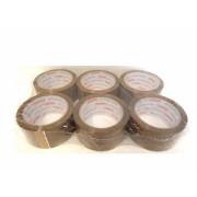 6er Pack Klebeband ( Packband ) 66m x 50mm