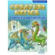 Creaturi mitice - Carte cu abtibilduri