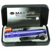 Фенер Maglite Solitaire лилав