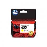 HP CZ112AE (655 sárga) eredeti HP patron Deskjet Ink Advantage 3520 sorozat Deskjet Ink Advantage 3525 Deskjet Ink Advantage 4610 sorozat Deskjet Ink Advantage 4615 Deskjet Ink Advantage 4620