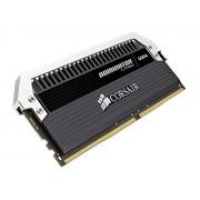 Corsair CMD32GX4M4B3466C16 Memoria RAM da 4 GB, DDR4, 3466 MHz, CL16, Kit 4 Pezzi, Nero