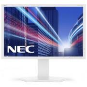 "Monitor IPS LED Nec 24.1"" P242W, Full HD (1920 x 1200), VGA, DVI, HDMI, DisplayPort, 8 ms (Alb)"