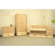 Mobilier complet camera copii si bebelusi Giulia Light