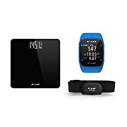Polar Balance Smart Scale Black & M400-Sport cardio GPS Watch-Blue