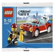 LEGO City: Fire Car Set 30221 (Bagged)