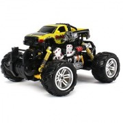 Graffiti Dodge RAM Electric RC Off-Road Monster Truck 1:18 Scale 4 Wheel Drive RTR Working Hinged Spring Suspension Perform Various Drifts (Colors May Vary)
