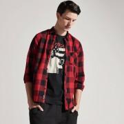 House - T-shirt outcast - Czarny