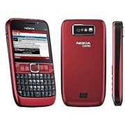 Refurbished Nokia E63 Mobile Red color ( 6 Months Gadgetwood Warranty )