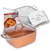 Copper Chef vierkante koperen pan
