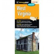 Universal Map West Virginia Fold Map (Set of 2) 12424